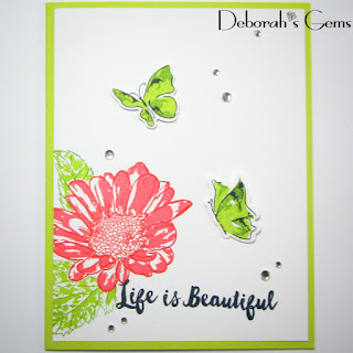 Life is Beautiful sq - photo by Deborah Frings - Deborah's Gems