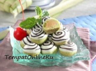 kue nastar greentea