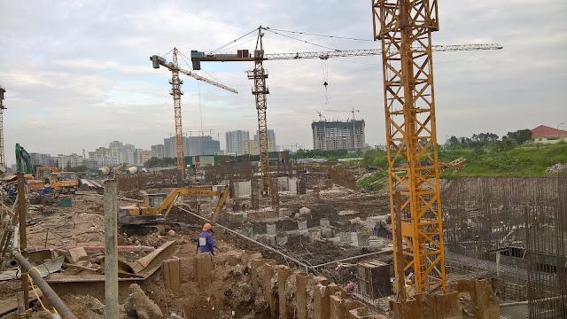 Tiến độ xây dựng Gelexia Riverside