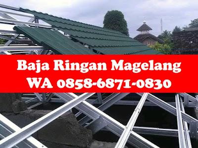 harga baja ringan cilegon steel per batang termurah wa 0858 6871 0830 daftar magelang