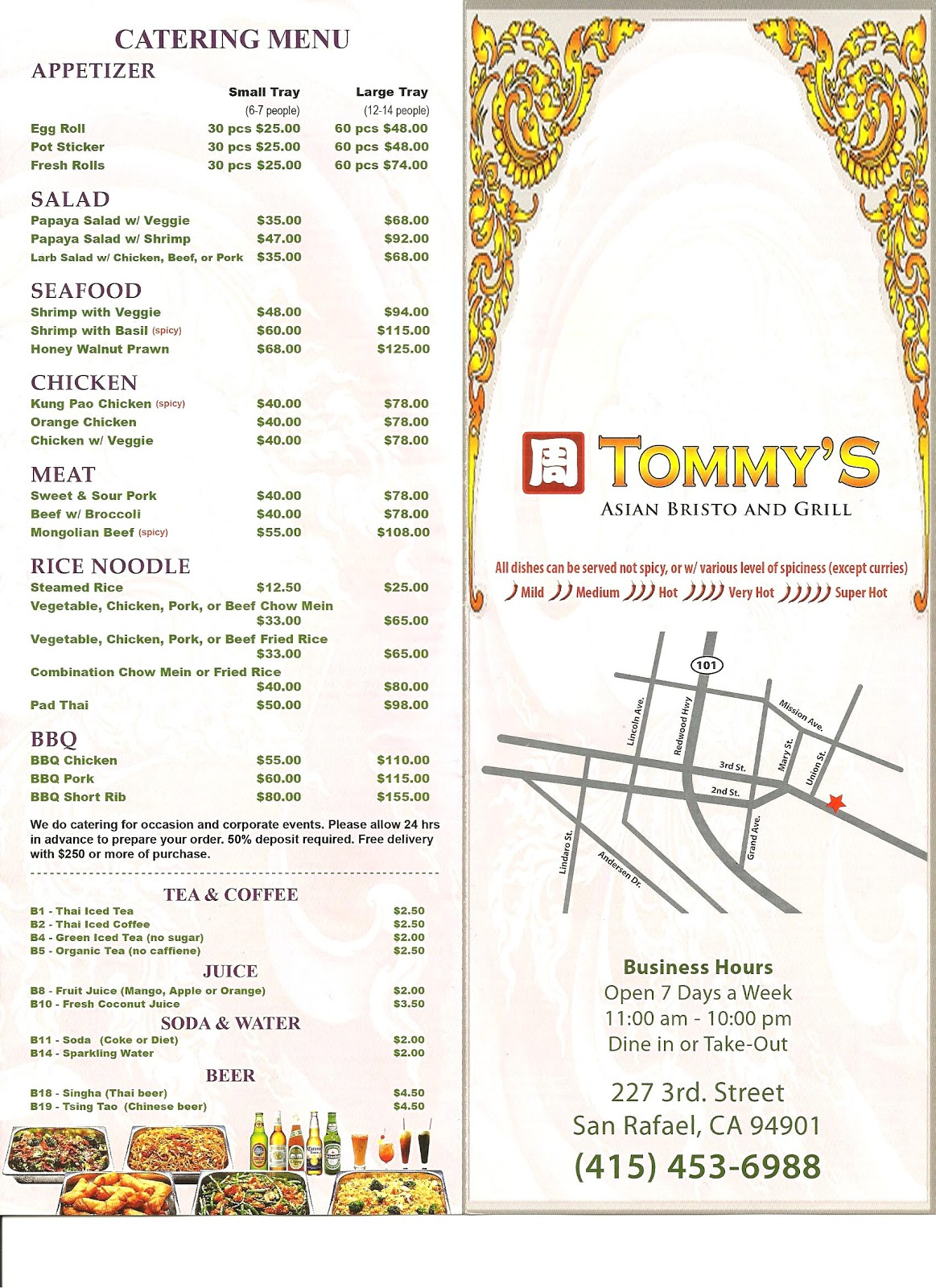 Tommy S Restaurant Hampton Va Menu