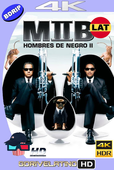 Hombres de Negro 2 (2002) BDRip 4K HDR Latino-Ingles MKV