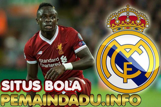 Klub Real Madrid Siap Jadikan Sadio Mane Pemain Termahal