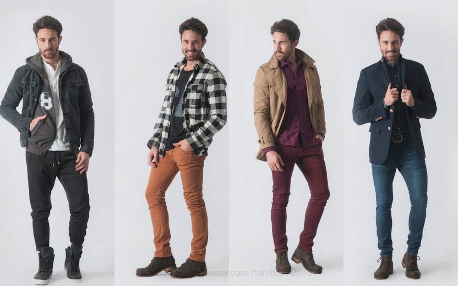 e354f94001 Moda y Tendencia en Argentina y el Mundo.  Moda Hombre Invierno 2015.Vov