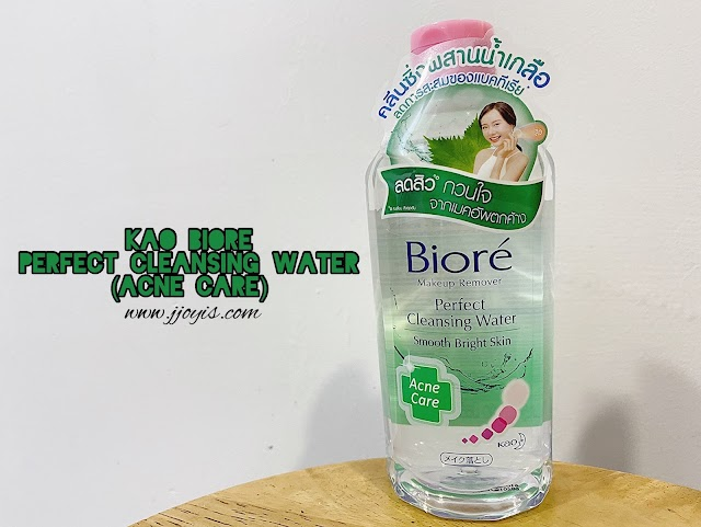 Review: Biore Perfect Micellar Cleansing Water (Anti Acne)