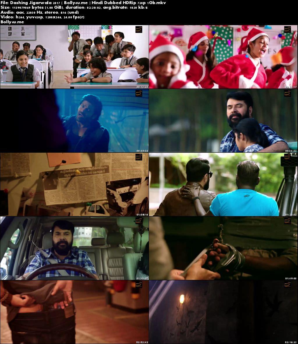 Dashing Jigarwala 2017 HDRip 1GB Hindi Dubbed 720p Download