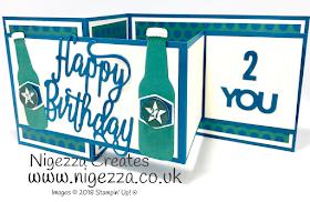 Double Z Birthday Card for my son Nigezza Creates