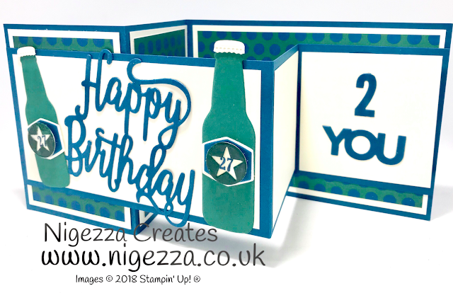 Double Z Birthday Card for my son Nigezza Creates