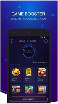 Aplikasi DU Speed Booster & Cleaner For Android