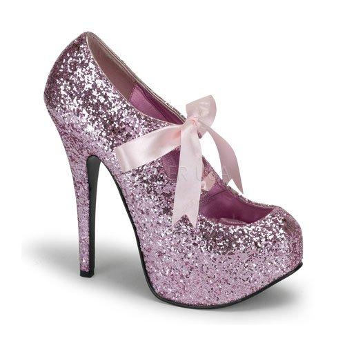 Prom Dresses 2018: Bordello glitter platform pump heels ...