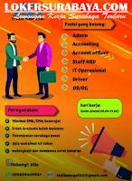 Bursa Kerja Surabaya di PT. Mega Mas Juni 2020
