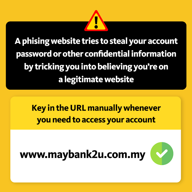 Maybank Beri Amaran Berkaitan Website Palsu Bagi Mencuri Data Pengguna