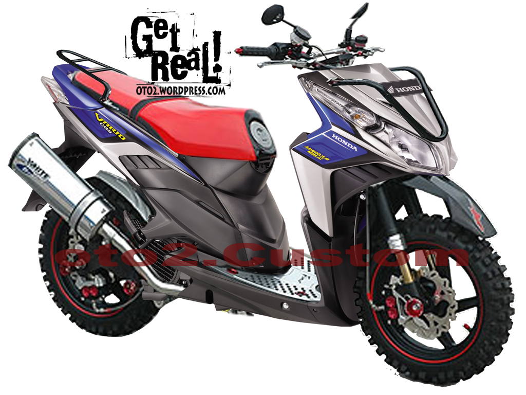 Modifikasi Vario Sporty Kumpulan Modifikasi Motor Vario