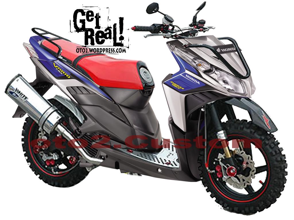 Gambar Motor Modifikasi Honda Beat