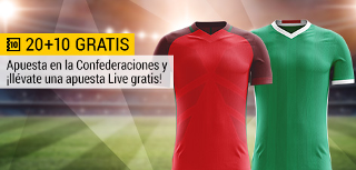 bwin promocion 10 euros Portugal vs México 18 junio