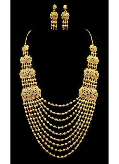 Latest Necklace Design Rani Haar