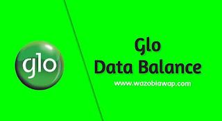 glo data balance