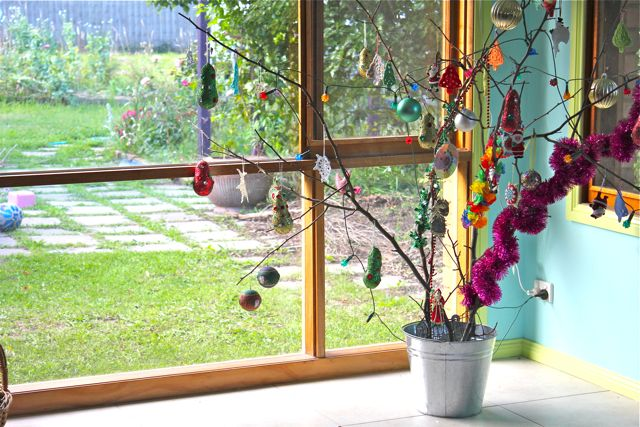 Little Woollie: Christmas (twig) Tree