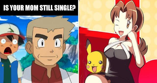I ship Professor Oak and Ash's Mom