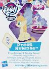My Little Pony Wave 19 Press Release Blind Bag Card