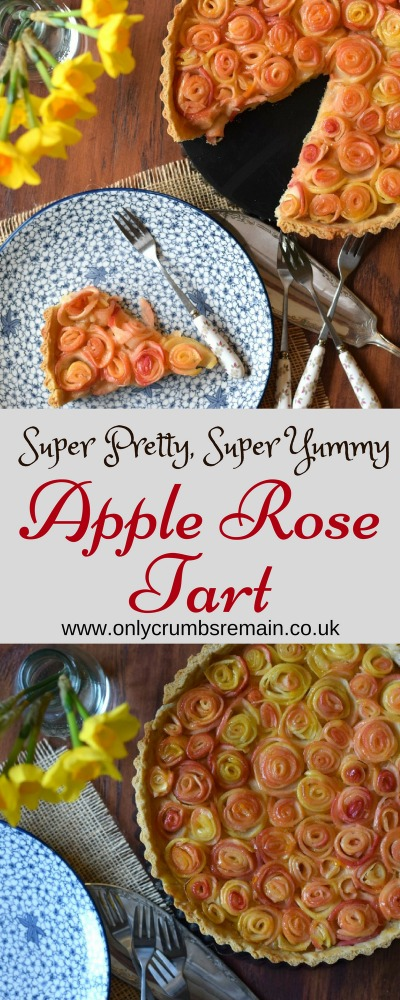 Healthy Apple Rose Tart recipe