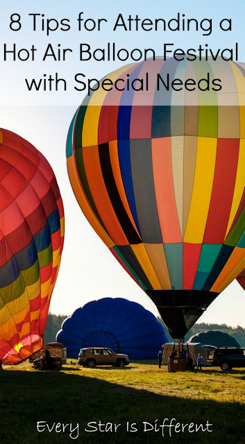 8 Tips for Attending a Hot Air Balloon Festival with Special Needs