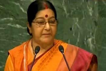 Sushma Swaraj's Take down Of Pak At UN
