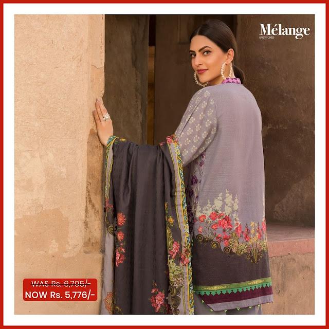 Warda Printed Khaadar winter sale suits