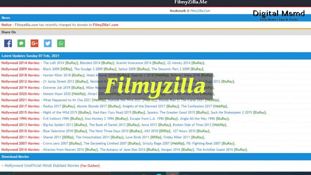 Filmyzilla 2021: Download Latest Movies for free in HD Quality | Digital Msmd