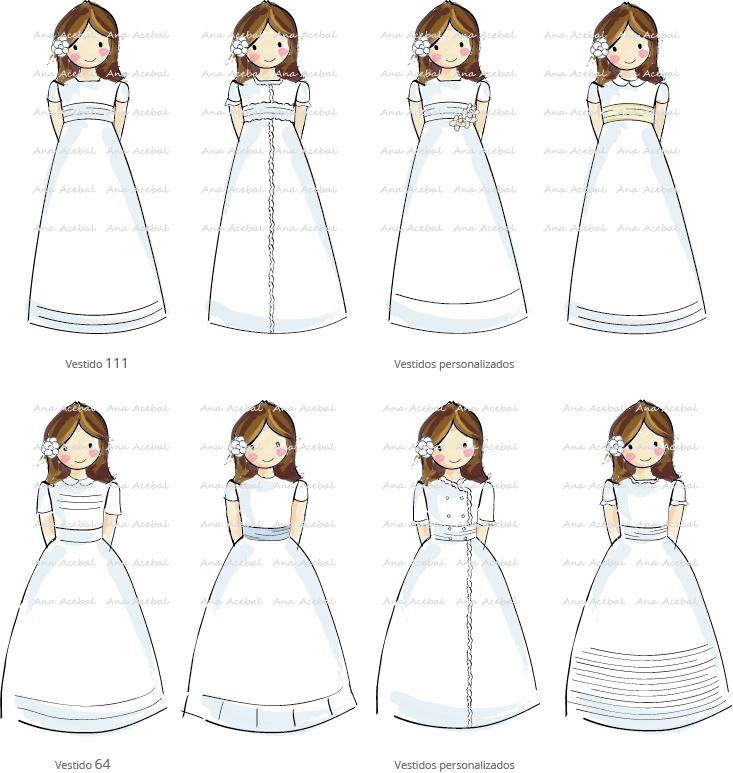 modelos vestido comunion