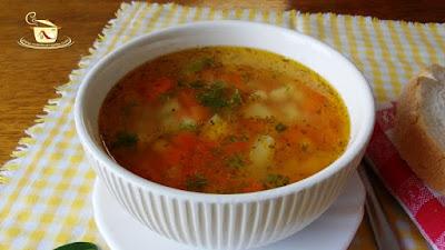Ciorba de legume - etapa 5