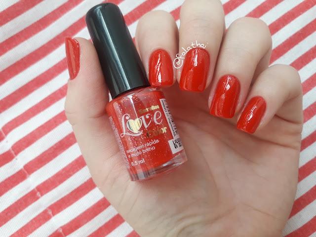 Esmalte love color vermelho