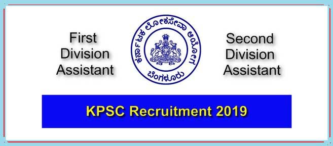 Karnataka (KPSC-SDA-FDA) 844 New Vacancies 2019