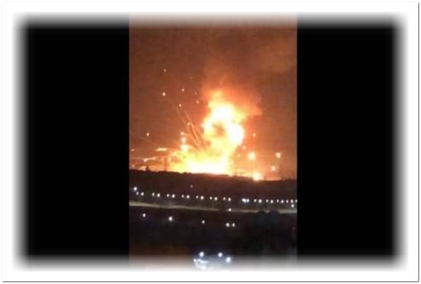 انفجار ضخم في قاعدة عسكرية بالأردن.. وأنباء عن إصابات خطيرة