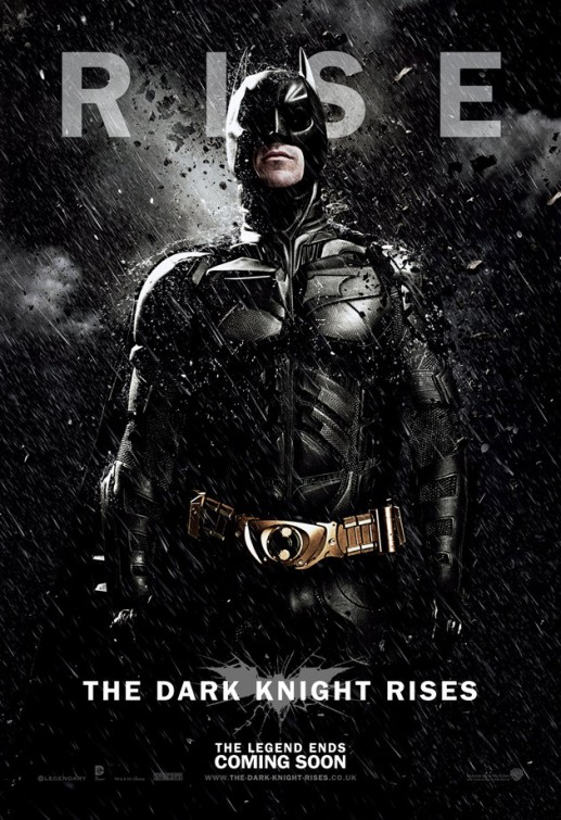 Dark Knight Rises Batman poster