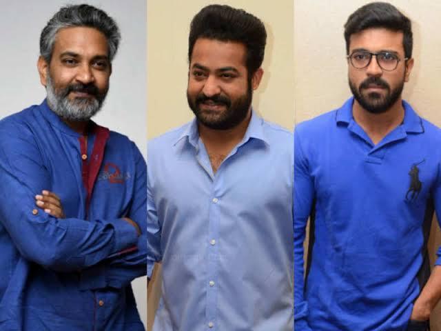 Ramcharan first look update in RRR - Telugu movies