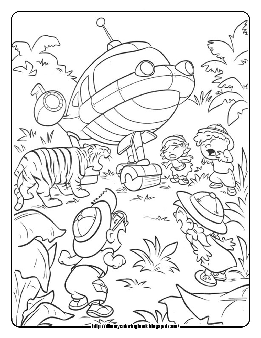 little einsteins online coloring pages - photo #11
