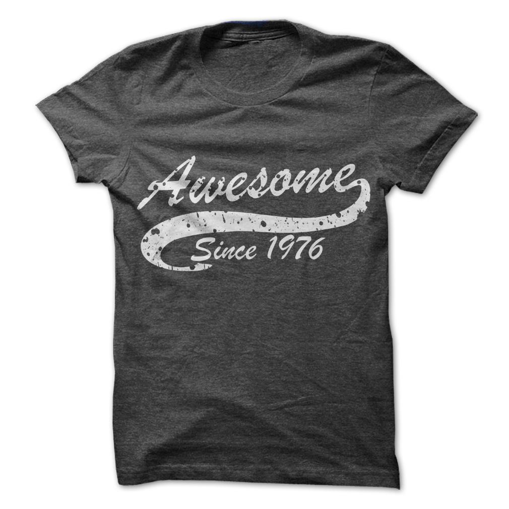 1976 Birth Years Tee Shirts