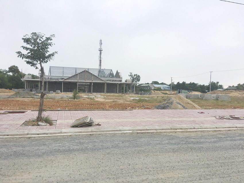 Chợ Lai Nghi đang được xây dựng, dự kiến Quý I/2019 hoàn thành