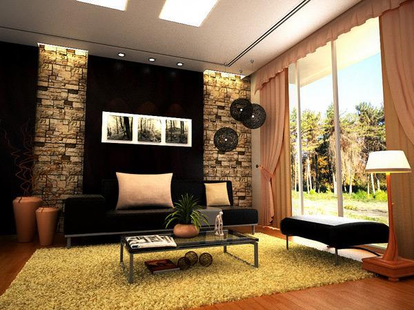 Desain Ruang Tamu Modern Kontemporer