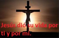Jesús pagó el precio de nuestros pecados.