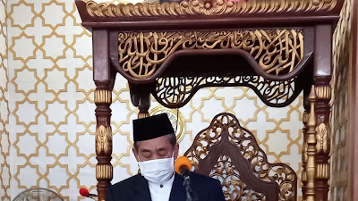 Pelaksanaan Shalat Idul Fitri Di Sidrap Terapkan Protokol Kesehatan, Dollah Mando : Perteguh Ukhuwah Islamiah