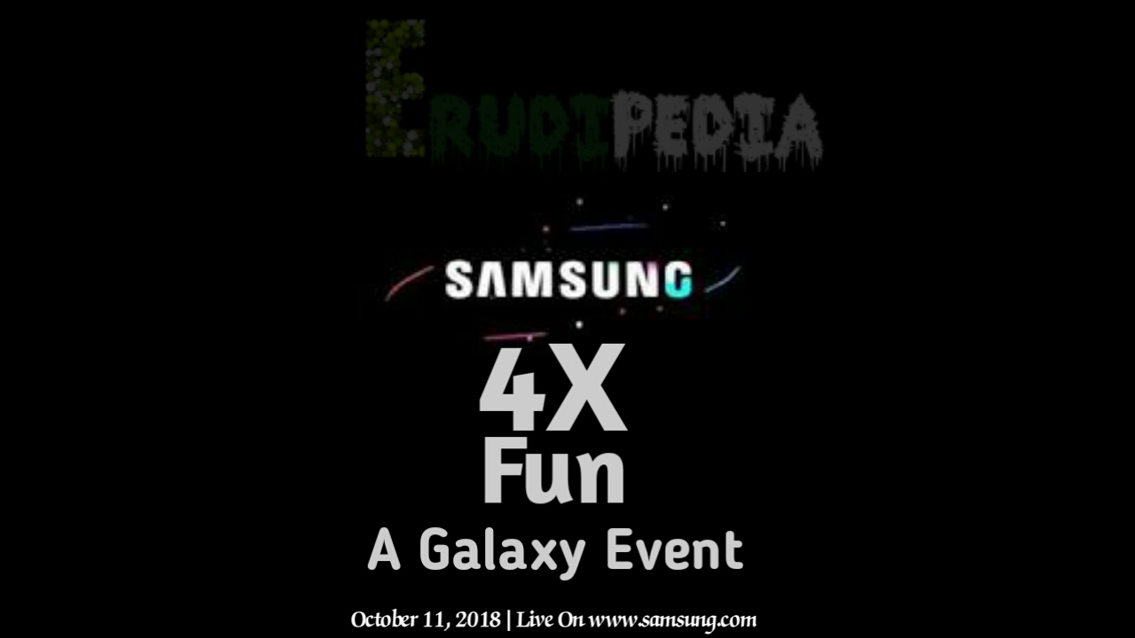 Samsung galaxy phone to feature four cameras to launch in galaxy event on October 11