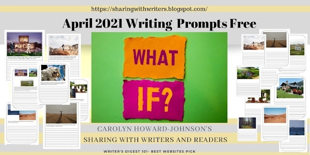 2021 April What If Writing Prompt Free PDF Download