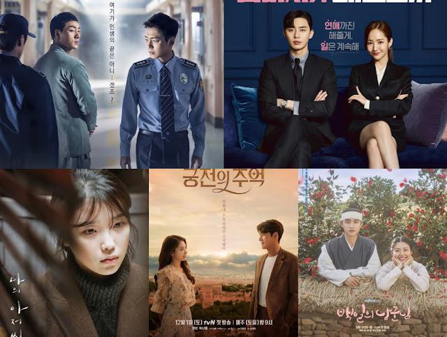 台灣網友票選2018年tvN最愛戲劇作品前三名揭曉