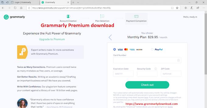 Grammarly Premium download