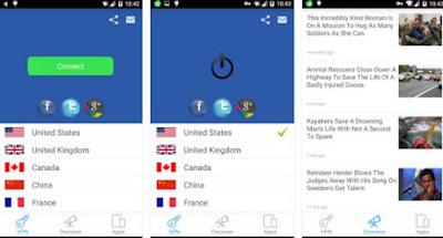 Aplikasi Internet Gratis untuk Android sepuasnya dan Selamanya