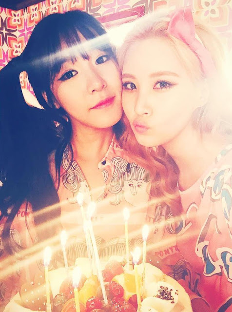 SNSD Tiffany greets her baby SeoHyun a happy birthday ...