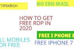 How to get free RDP virtual iPhones free rdp