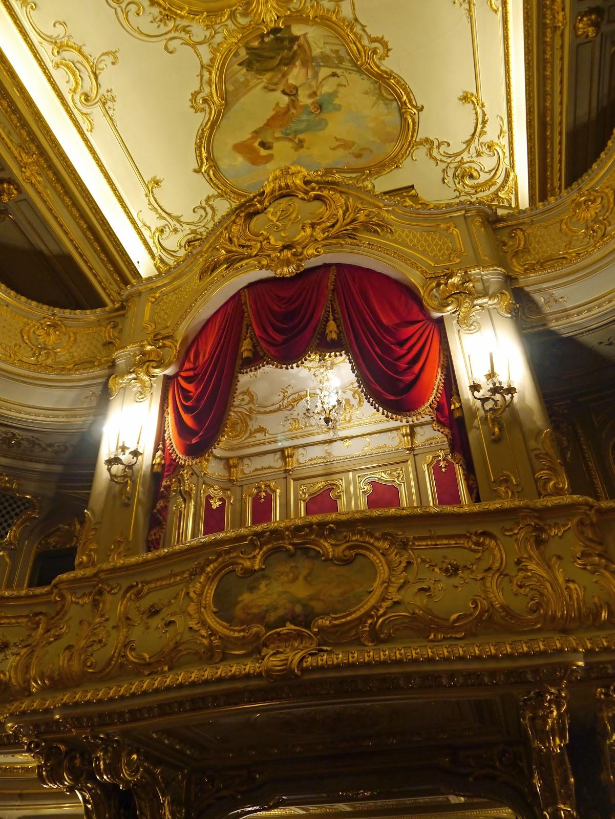 Photo Blog St Petersburg Yusupov Palace Home Theater